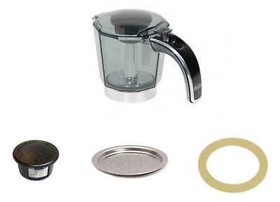 Delonghi Carafe + Couvercle Joint Filtre Alicia Plus 4 Tasses EMKP42.B
