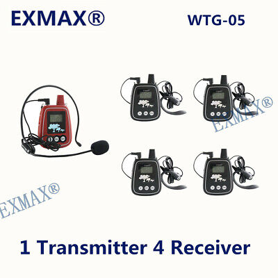 Mini UHF Wireless Audio Headset Microphone System WTG-05 For Debate Competition