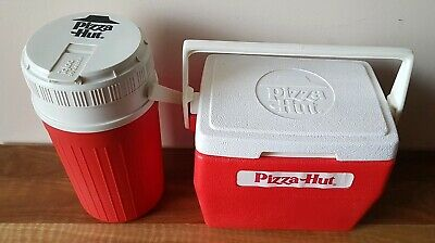 Vintage Collectable Pizza Hut Esky & Drink Coolers & Rare Retro 80's Advertising