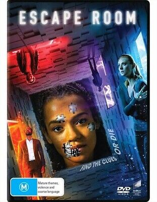 Escape Room (DVD, 2019) : NEW