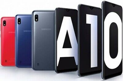 New Samsung Galaxy A10 (2019) 32GB Dual SIM 4G LTE Smartphone Android 3 Colours