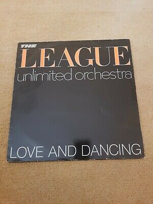 The League Unlimited Orchestra - Love and Dancing -Vinyl Record LP 33RPM - 1981