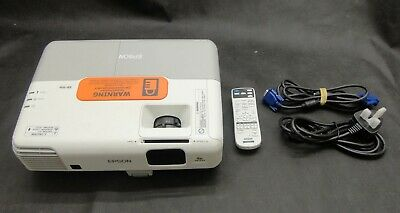 Epson EB-93e 3LCD HDMI/VGA/XGA Projector & Remote and Cables Projects Good Image