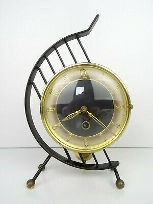 Vintage Art Deco Dutch Mantel Shelf Clock (Warmink Junghans Kienzle era)