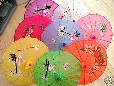 12 Japanese Chinese S Mix Color Parasol Girl Wedding Dance Party Umbrella