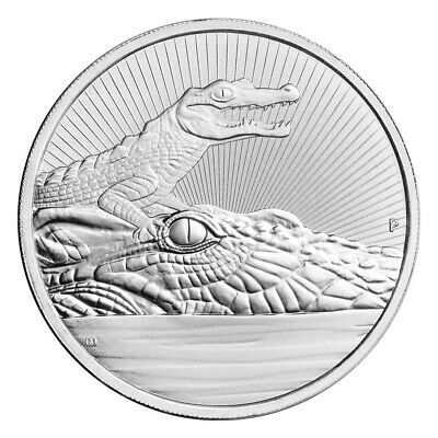 2 oz 2019 Australia Next Generation Series | Crocodile Silver Coin
