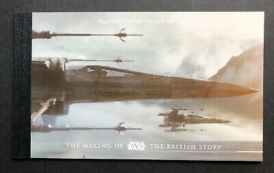 2015 DY15 The Making of Star Wars - British Story - Prestige Book. MNH.