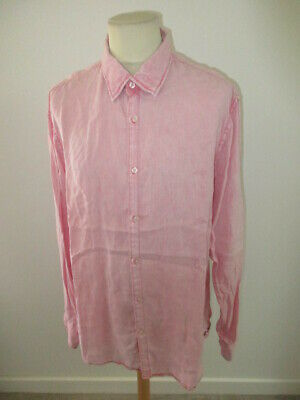 Shirt in Linen Scotch & Soda Pink Size XXL - 65%