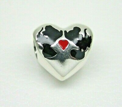 bbd44f5ef AUTHENTIC PANDORA #791443ENMX Minnie and Mickey Kiss Disney Charm ...