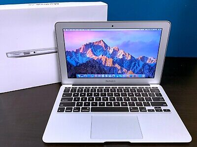 "REFURBISHED Apple 11"" MacBook Air Laptop Computer / 1.6GHz Core i5 / 128GB SSD"