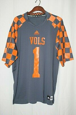 4f741845852 NEW #1 TENNESSEE Volunteers Mens Sizes S-M-XL-2XL Adidas Gray ...