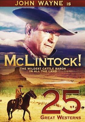 McLintock! + 24 More Great Westerns on 5 DVDs