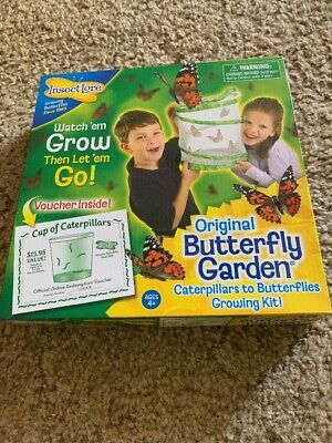Insect Lore Original Butterfly Garden Cup of Caterpillars, Educational Grow Farm