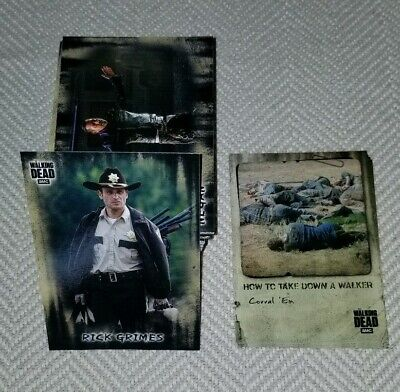 Topps 2019 The Walking Dead Hunters & Hunted Complete Base Set + 1 Insert Set