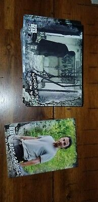 Topps Walking Dead Road To Alexandria Complete 100 Card Base Set + 20 Characters