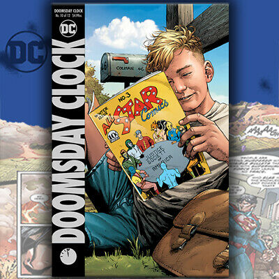 Doomsday Clock #10 Variant Cover