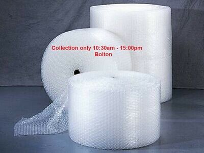 1 Roll of White Small Bubble Wrap 500mm x 100m Cheap Packing Posting Daily Uses
