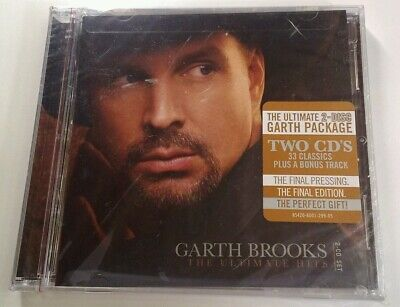 The Ultimate Hits by Garth Brooks CD 2016 Pearl Sealed Final Press