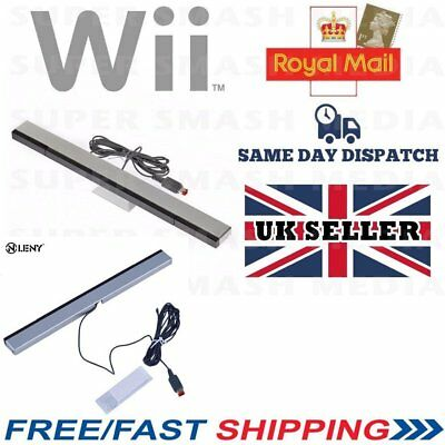 Sensor Bar For Nintendo Wii & Wii U With Stand Wired Infrared Receiver - Cx