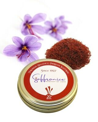 20 Grams Certified SAFFRON with 30 days money back guarantee.
