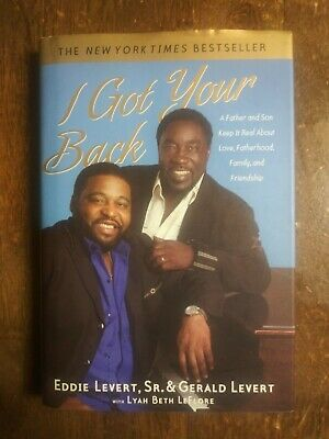 The O' Jays **SIGNED** I Got Your Back. Eddie Levert. Rock and Roll Hall of Fame