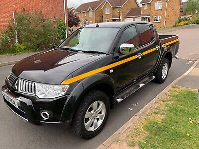2011/61 Mitsubishi L200 Barbarian Double Cab Pick Up - Factory Top Available