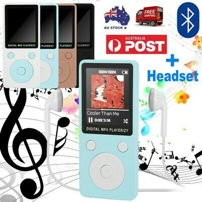 Portable bluetooth MP3 MP4 Player Sport LCD Screen FM Radio Video Games Movie