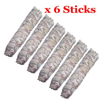 "Smudge Stick California White Sage - Extra Large / Jumbo 9"" (22cm) - Pack of 6"