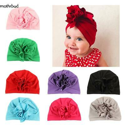 Baby Girls Turban Knot Head Wrap Cute Kids Rabbit Ear Hat Bunny Ear Cotton Cap01