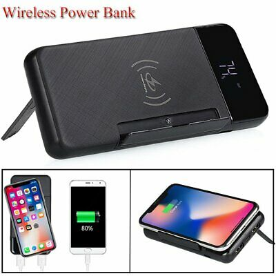 Wireless 500000mAh External Power Bank Pack USB Battery Charger For Mobile Phone