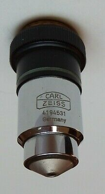 (#1) microscope lens Carl Zeiss Plan 40/0,65 - 160/0,17
