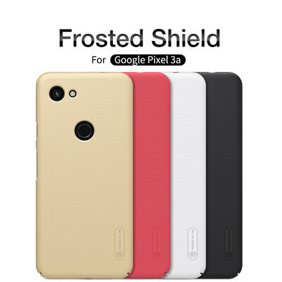 For Google Pixel 3a/3a XL Nillkin Frosted Shield Hard Back Shell Cover Skin Case