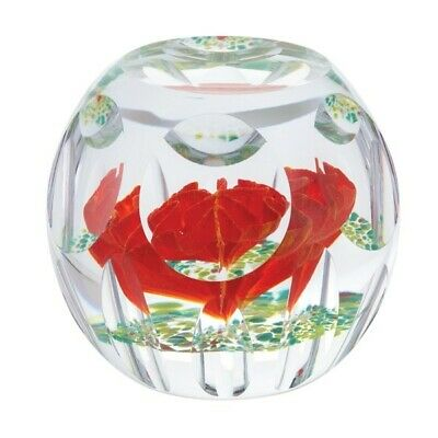 Caithness Glass Paperweight Limited Edition Hot House Autumn Idyll L19007 9.5cm