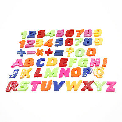 Teaching Fridge Magnets Alphabet Set Of 26 Magnetic Numbers & Letters