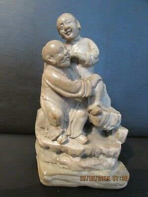 antique Chinese soapstone carving early 19th century AF 12cm