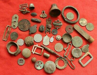 SET Of Antique OLD Artifacts  - Metal Detecting Find