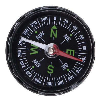 Mini Precise Compass Practical Guider for Camping Hiking North Navigation ^S