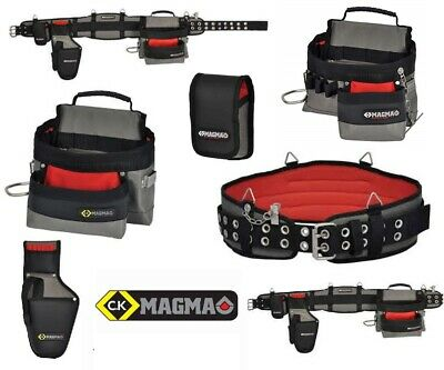 Ck Magma Tool Belt Pouch  Drill Holster Phone Holder Set Builder Electrician