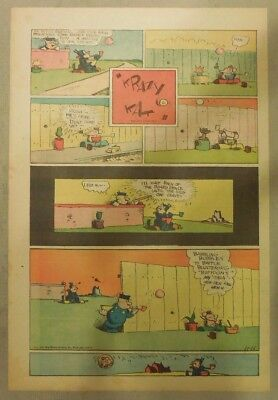Krazy Kat Sunday by George Herriman from 11/15/1942 Tabloid Size Page