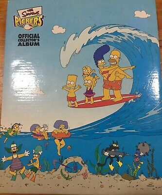 The Simpsons The Complete Set Of 120 Pickers In Great Condition
