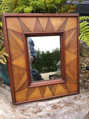 A Lovely early Inlaid Wall Mirror