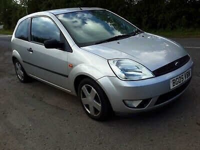 Ford Fiesta 1.4 Zetec,2005 Year,3 Owners,Service History,All Starts &Drives Well