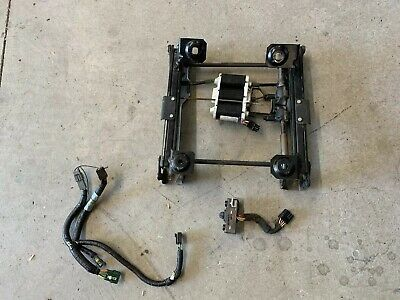 92 93 94 95 96 ford truck bronco bucket seat track driver left power with  wiring