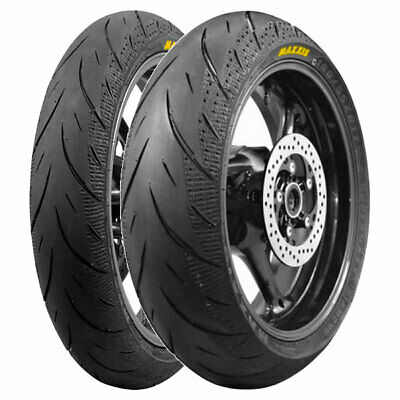 Coppia Gomme Maxxis 120/70-15 56H + 160/60-15 67H Supermaxx Diamond Ma-3Ds