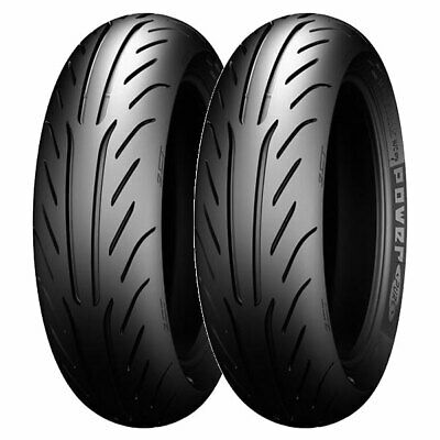 Coppia Gomme Michelin 130/60-13 53P + 140/60-13 57L Power Pure Sc