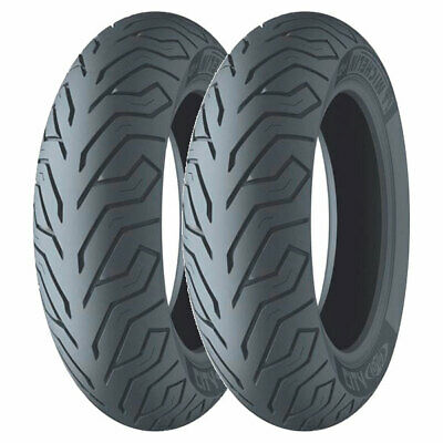 Coppia Gomme Michelin 120/70-12 51P + 130/70-13 63P City Grip