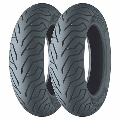 Coppia Gomme Michelin 120/70-16 57P + 130/70-12 56P City Grip