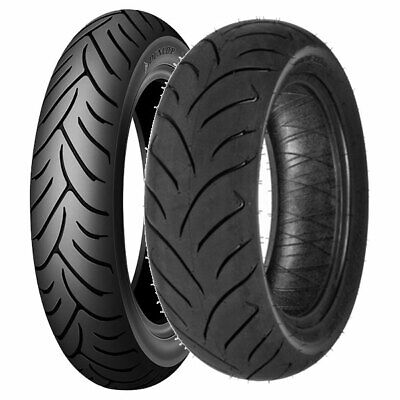 Coppia Gomme Dunlop 120/70-15 56H + 160/60-14 65H Scootsmart
