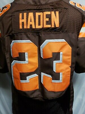 New NWT NIKE NFL Cleveland Browns Joe Haden On Field Jersey Men's XL