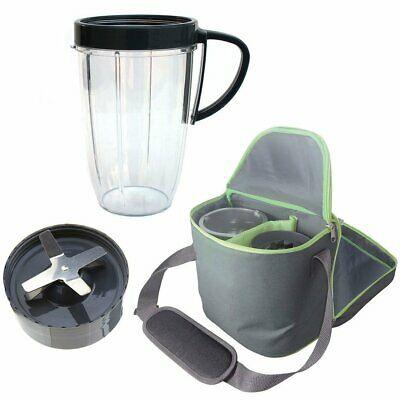 Extractor Blade 600W 900W, 24oz Tall Cup, Insulated Travel Bag For NutriBullet